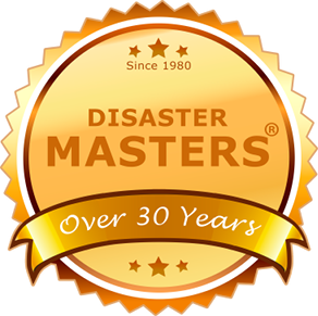 Disaster Masters since 1980.
